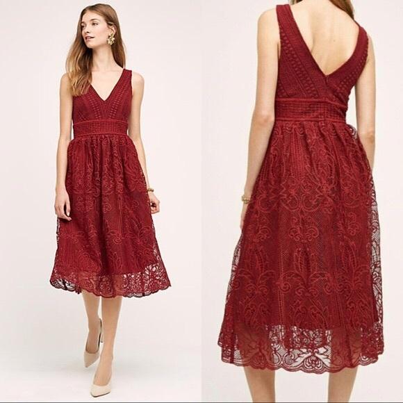 2db7b1756fad6 Anthropologie Dresses   Wrn1x Anthro Hd In Paris Midi Dress Sm W ...